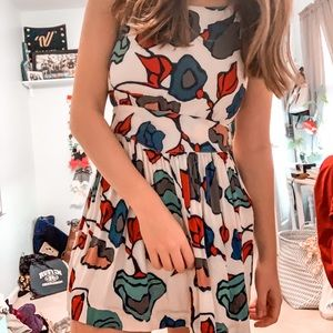 Cooperative by Urban Outfitters Floral Dress